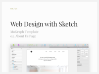 Web Design with Sketch: About Us