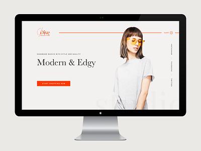 Dive Site v01 webdesig ui ux branding