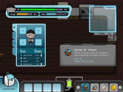 Eatvention Hud Game UI