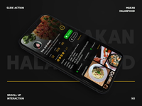 Makan Halal Food Interaction Scroll Up