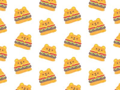 surface pattern design / burger
