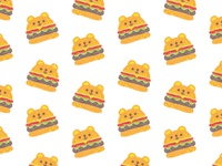 surface pattern design / burger