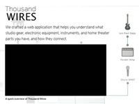 Thousand Wires Promotional Site