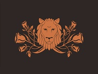 Lion and Floral Final