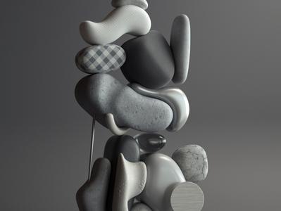 Curvature 2 art modern adobe graphic design inspiration octane cinema4d design illustration 3d