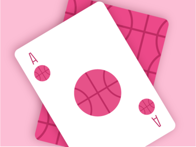 One dribbble invite dribbbleinvite illustration cards basketball drafting draft giveaway invite dribbble