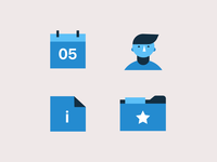 Conference Icon illustrations