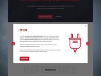 Electro redesign - pop up