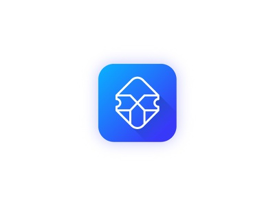 Tiks App blue logo symbol seat app kosovo kosova prishtina ne fron hyjnesha ticket app tiks