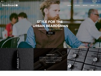 Beardbrand homepage