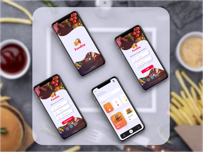 Food order - Mobile App app ux ui design