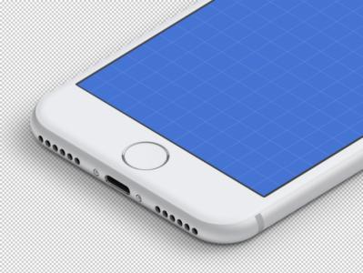 isometric iphone mockups white design freebies design free clay apple mockup download freebie
