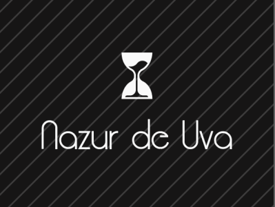Nazur de Vua wine icon branding logo design illustration @illustration @logo