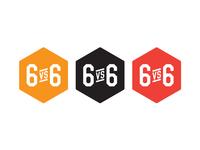 6vs6 sports branding