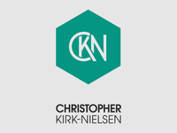 CKN Monogram + Text Block