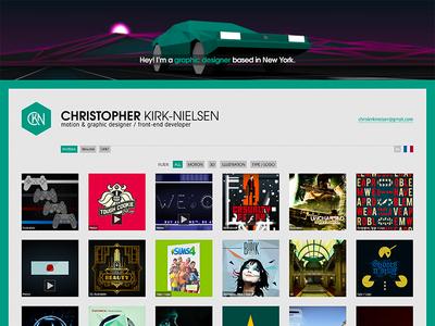 CKN 2016 Portfolio web design portfolio