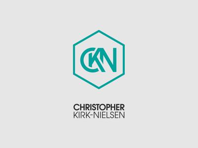 CKN Monogram + Text Block - 2017 hexagon logo monogram