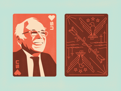 Bernie Playing Card (2 of 2)