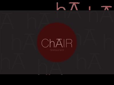 Restaurant Logo food chair logodesign minimal icon branding typography vector graphicdesign design restaurant logo restaurant logo design logotype logo