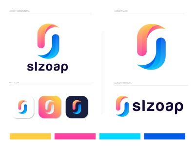 S+O letter logo design for slzoap logodesign branding design online store online marketing branding logotype letter logo logo designer modern logo brand identity logo mark agency online shop o logo s logo o letter logo s letter logo s letter minimal logo colorful logo