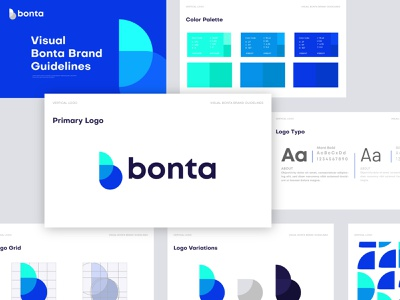 Bonta Branding Logo Design logo logos logo design logotype logodesign branding typography logodesinger illustration brand design design icon brand brand identity branding design branding agency branding concept gradient gradient logo blue logo