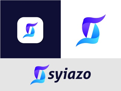 Branding Logo Design For Syiazo agency business company best logo logoinspirations corporate identity technology vector s logo gradient abstract logo design logo mark letter logo branding modern logo brand identity logo designer logotype