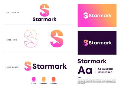 Starmark Branding app logos branddesigner corporateidentity technology tech s icon s mark s logo star icon star logo logo design logo mark letter logo branding modern logo brand identity logo designer logotype