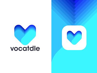 Modern Colorful Logo Design logo designer modern logo minimal logo colorful logo app logo v logo mark logo branding logo design branding brand identity brandinglogodesing corporate branding mobile illustration noman abdullah branding agency typography letter logo