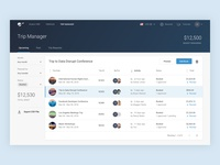 TRAVO Dashboard / Trip Manager