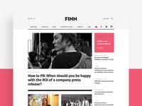FINN Landing Page