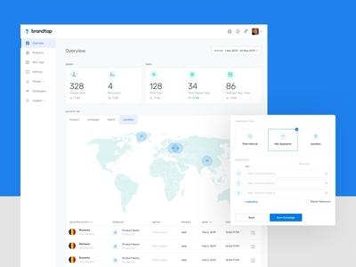 Brandtap Web App