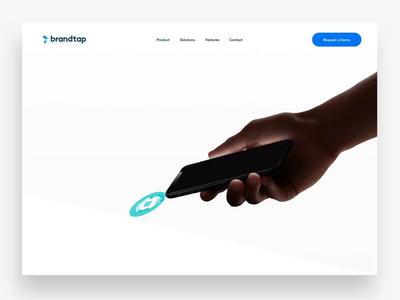 Brandtap Landing Page Web Design
