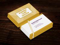 Awesome set of Business Card PSD Mockup