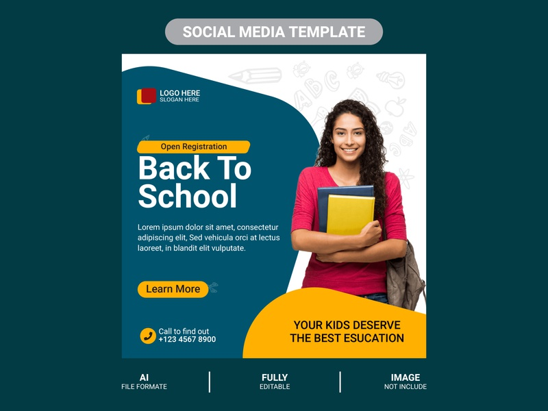 Education Banner Designs Themes Templates And Downloadable Graphic Elements On Dribbble