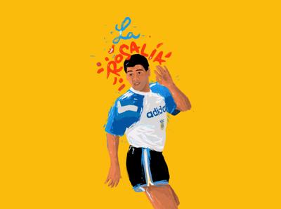 Rosalía illustration
