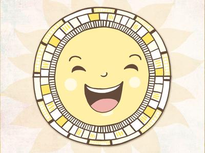 Summer is coming! character happy illustration vector adobe sketch illustrator sunshine
