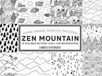 Mountain pattern repeats