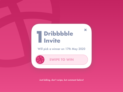 Dribbble invite up for grab! uxui dribbble invitation dribbble invite invite design