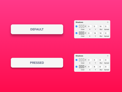 Details on shadows design style components card buttons atomic design sketch shadows material design ui design