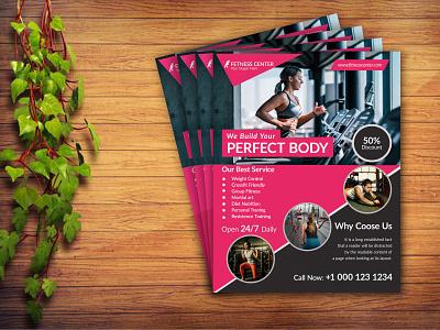 Gim Flyer corporatebusinessflyer pamphlet marketing sports commercial business healthflyer fitness body building gymleafletdesign yoga flyer graphic design design illustration gimopeningflyer createafitnessflyer gimflyerdesign