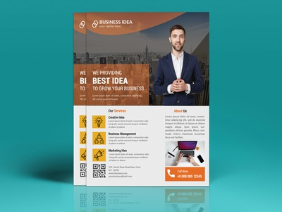 Corporate Business Flyer multipurpose presentation agency psd promotion corporate advertising