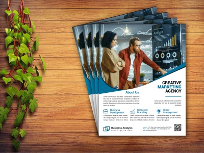 Corporate Business Flyer / Business Flyer graphic design womens day party flyer photoshop illustration flyer poster agency marketing corporate flyer design advertisement ad branding business flyer design service flyer corporate flyer template business flyer template modern business flyer creative business flyer