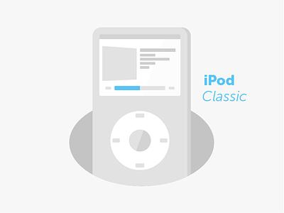 iPod Classic series wip ipod classic technology apple illustrator device music tech illustration classic ipod