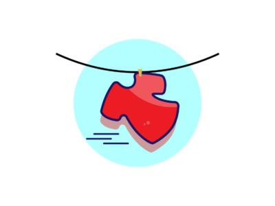 T shirt drying illustration illustrator logodesign logotype logotip logos logomark logomaker logologo logoinspirations logoinspiration logodesinger logodesigns logodesigner logo graphics graphicdesigner graphicdesign designlogo branding brand