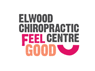 Elwood Chiropractic Centre logo branding illustration health chiropractic bright colorful