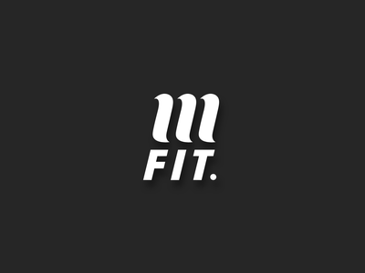 MFIT Logo mindful movement mfit wellbeing health womens day modern clean circle logo m letter logo black and white clothing brand illustration logo strategy brand river river digital