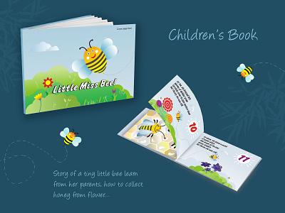 Children's Book Graphic'Design Layout print design print book children book illustration childrens book graphic design typography vector illustration design
