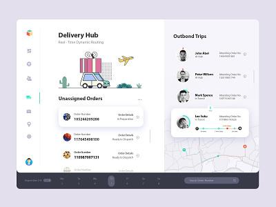 Consignment Tracking Dashboard Interface App website webdesign web ux ui  ux ui design ui minimal interface desktop design clean tracking app app