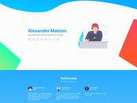 Personal Website 2018 (2.0)