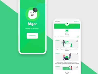 Edgar relief work mobile application green madagascar education